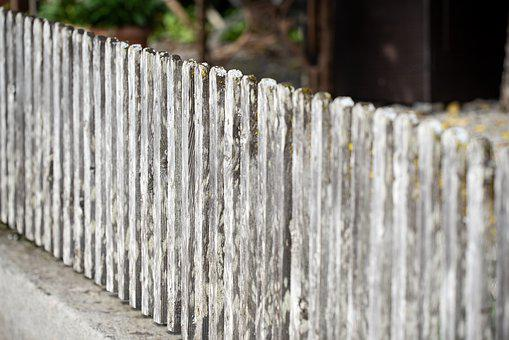 Fence, Wooden Fence, Old, Weathered, Wood, Wood Fence