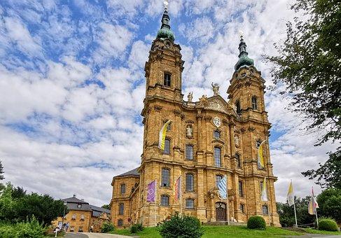 Fourteen Saints, Basilica, Church, Architecture, Heaven
