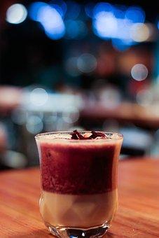 Cocktail, Passion Fruit, Juice, Beverage, Drink, Pub