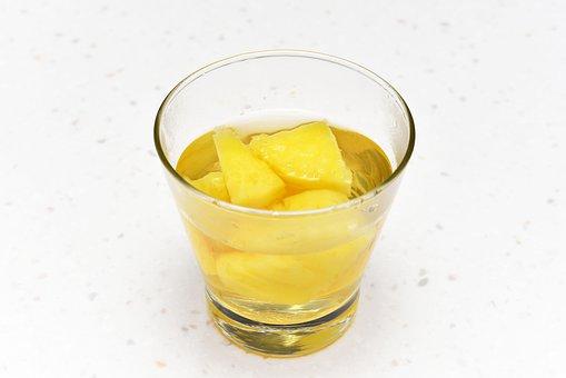 Pineapple Tea, Fruit Tea, Sweet Tea, Drink, Beverage