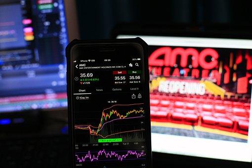 Stock, Chart, Investing, Smartphone, Market, Nasdaq
