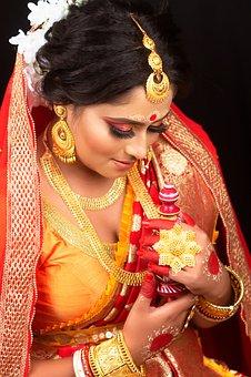 Woman, Bride, Wedding, Female, Marriage, Dress