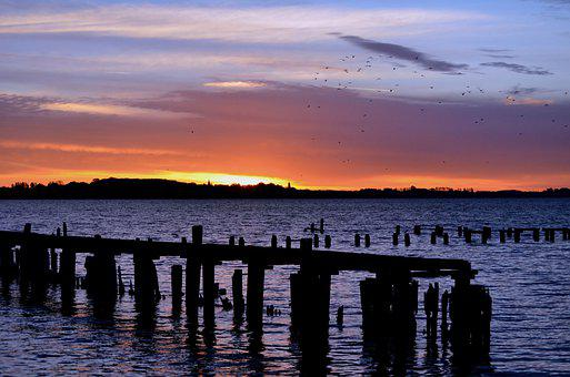 Sea, Sunrise, Dusk, To Travel, Exploration, Heaven