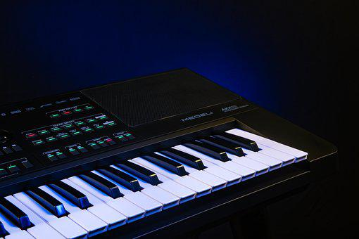 Piano, Keyboard, Musical Instrument, Music, Melody