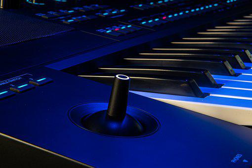 Keyboard, Musical Instrument, Music, Melody, Song