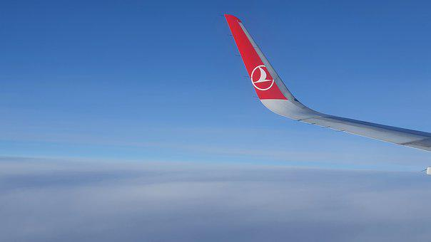 Airplane, Turkish Airlines, Aircraft, Sky, Flying
