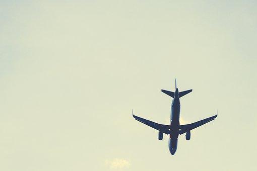 Plane, Airplane, Aircraft, Sky