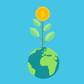 Economic, Money, Progress, Financial Growth, Concept