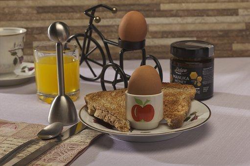 Eggs, Toast, Breakfast, Food, Bread, Egg Cup, Dish
