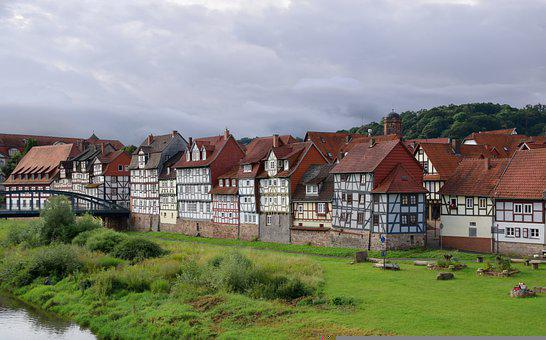 Half-timbered Houses, Historic Center, Historical