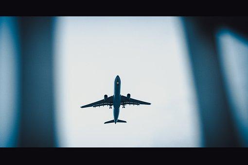 Plane, Airplane, Aircraft, Sky, Aviation