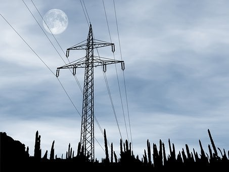 Power Lines, Voltage, Electricity, Cables, Electric