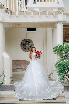 Bride, Girl, Wedding Dress, Wedding, White Dress