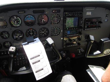 Lax, Airplane, Cockpit, Plane, Air, Los, Angeles