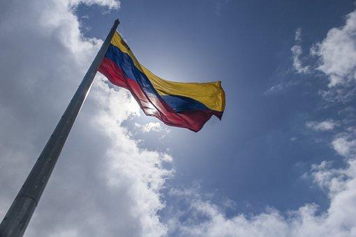 Venezuela, Bandera, Flag, Caracas, Bandera De Venezuela