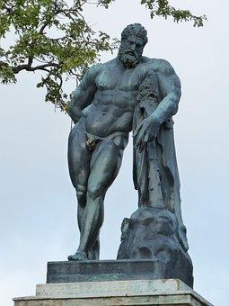 Figure, Statue, Sculpture, Man, Art, Body, Park, Russia