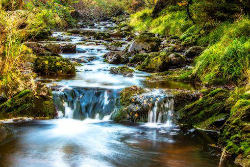 River, Water, Flow, Waters, Bubble, Stones, Nature