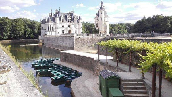 France, Château De Chenonceau, Châteaux De La Loire