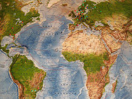 Map Of The World, Destinations, Country, Map, Tags