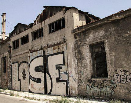 Lose, Decay, Old Factory, Abandoned, Crisis, Losing