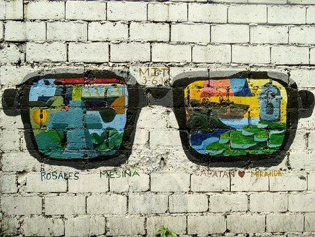 Manila, Filipino, Grafitti, Outdoor, Wall, Street