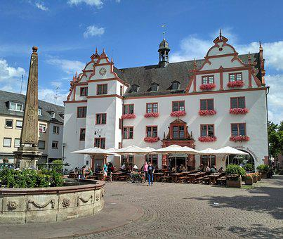 Darmstadt, Hesse, Germany, Old Town Hall, Town Hall