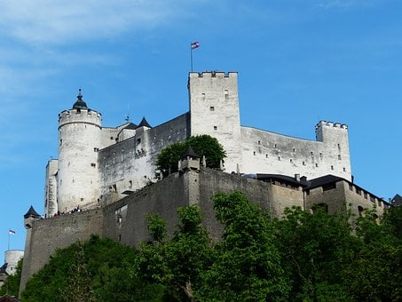 Hohensalzburg Fortress, Castle, Fortress, Landmark