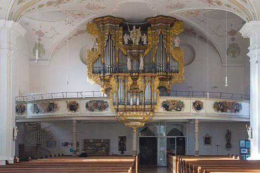 Horb, Horb Am Neckar, Collegiate Church, Organ