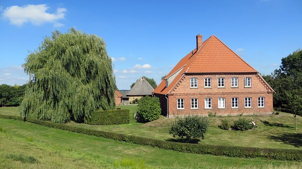 Ferry, Elbe, Elbauen, Bicycle Trail, Water, Landscape