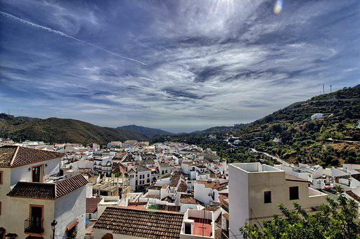 Ojén, Landscape, White People, Sierra De Las Nieves