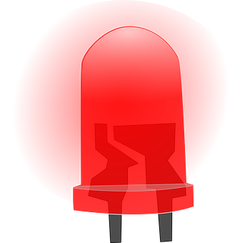 Led, Semiconductor, Diode, Light, Red, Energy, Lamp