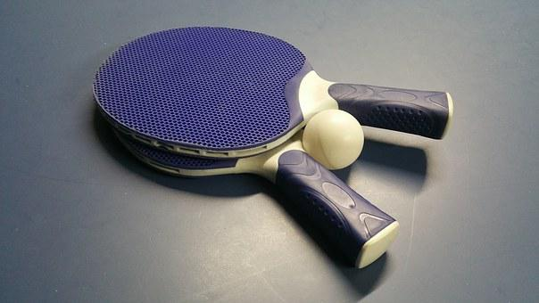 Tennis, Sport, Ping, Pong, Ball, Racket, Leisure, Game
