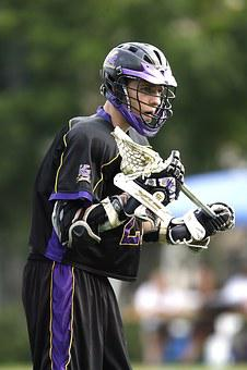 Lacrosse, Lacrosse Player, Helmet, Stick, Uniform, Male