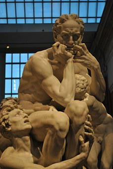 Ugolino And His Sons, Marvel, Sculpture