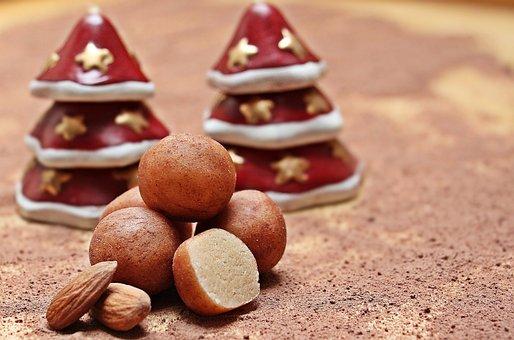 Marzipan Potatoes, Marzipan, Marzipan Balls