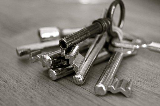 Key, Metal, Home, Security, Wedding, Entry, Door
