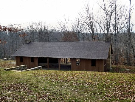 Shelter House, Beanblossom Lake, Morgan, Monroe