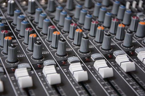 Mixer, Digital, Analog, Audio, Controller, Music