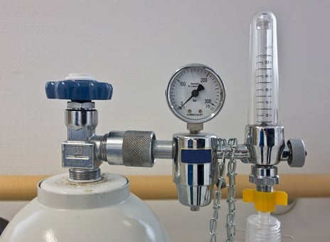Oxygen, Pressure Regulator, Oxygen Lax, Bottle