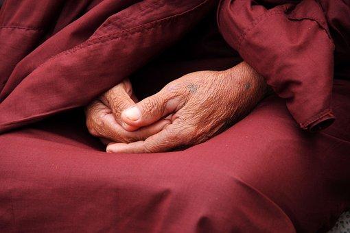 Monk, Hands, Zen, Faith, Person, Male, Pray, Religion