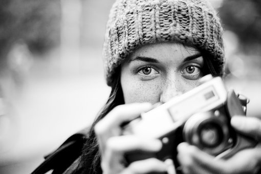 Photographer, Photography, Camera, Old, Retro, Hobby