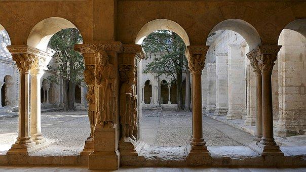 St-trophime, Cloister, Arles, France, Pilgrimage