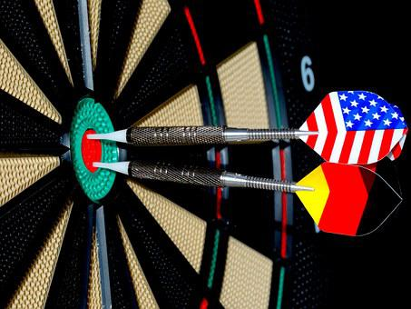 Dart, Arrow, Bull's Eye, Play Darts, Target, Play