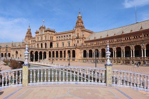 Seville, Plaza De España, Places Of Interest
