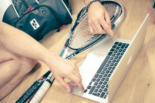 Squash, Sport, Man, Game, Racket, Ball, Fitness