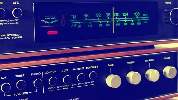 Stereo, Vintage, Music, Retro, Audio, Sound, Technology