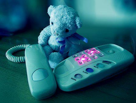 Sorrow, Phone, Sad Bear, Bear, Teddy Bear, Teddy