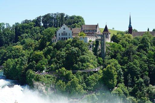 Rhine Falls, Schaffhausen, Neuhausen Am Rheinfall