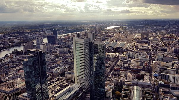 Frankfurt, City, Skyline, Frankfurt Am Main Germany