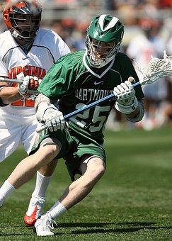 Lacrosse, Competition, Action, Grass, Lax, Sport, Stick